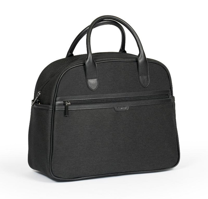 Chrome Black Twill Changing Bag