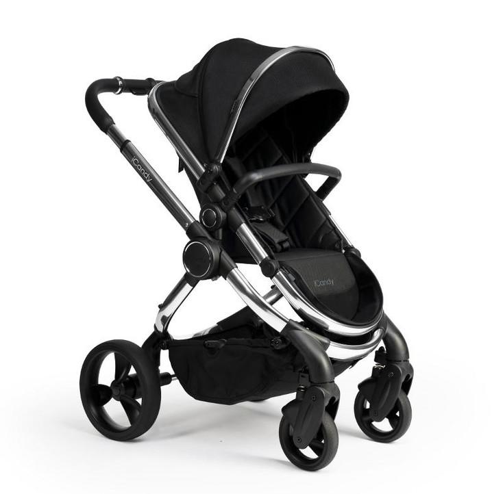 Chrome Black Twill - Seat Unit World Facing