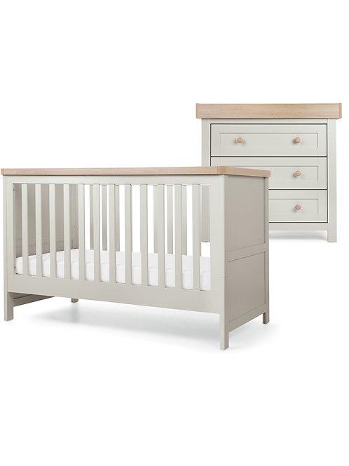 Mamas & Papas Keswick Set (Cotbed & Dresser)
