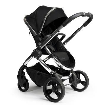Chrome Black Twill - Seat Unit