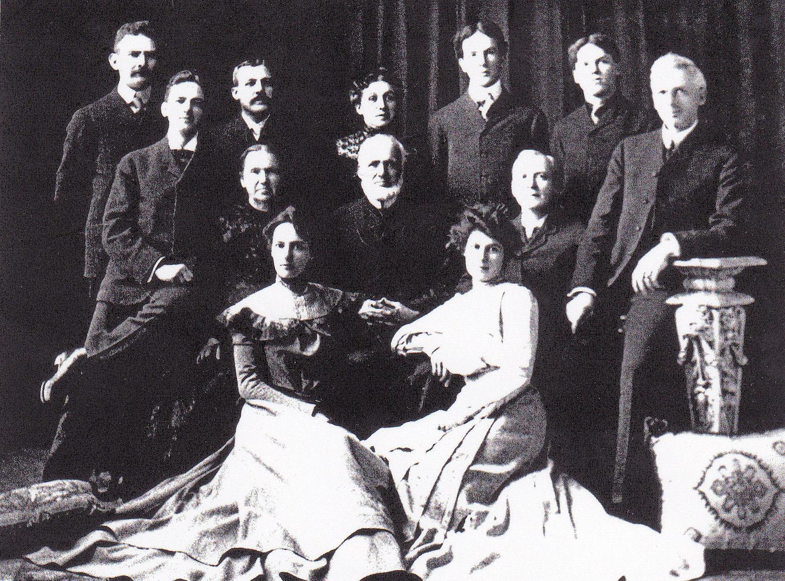 Heinrich Adam Mueller's family