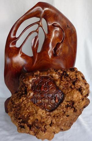 10 esculturas em Cedro Australiano que vão te surpreender