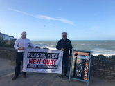 Supporting Plastic Free New Quay