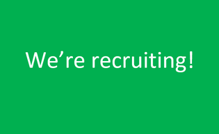 Looking for a new challenge? We're recruiting