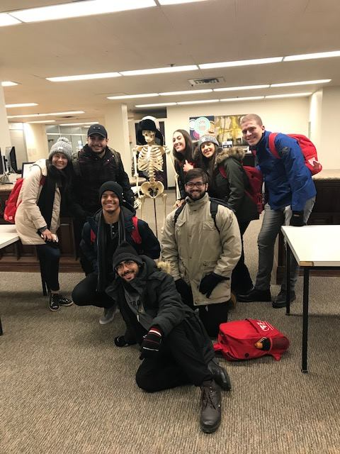 A_visita universidade de Toronto