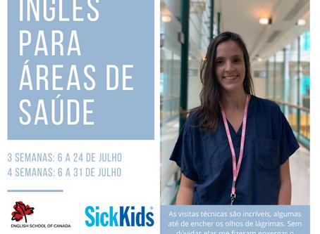 Inglês Médico & Observação no Hospital Sickkids de Toronto
