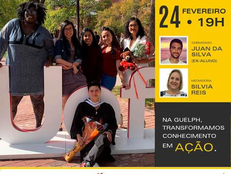 LIVE no Instagram: seu caminho para o sucesso começa na Universidade de Guelph!