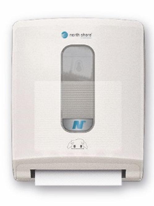 North Shore Compact Folded Towel Dispenser