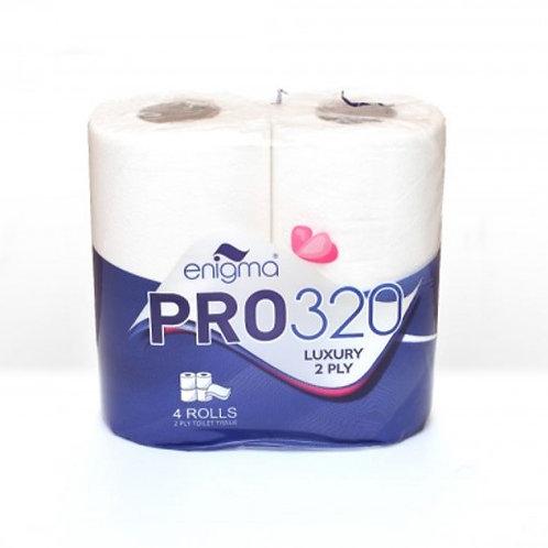 PRO320 2 Ply Toilet Rolls
