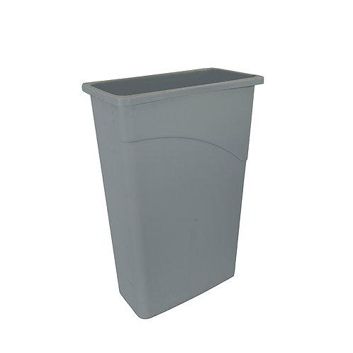 Wall Hugger Slimline Waste Bin 90Ltr