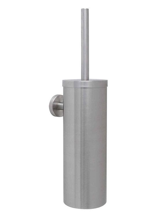 Stainless Steel Wall-mounted Toilet Brush & Holder Set