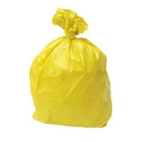 Yellow Bin Liners - Case/500