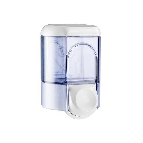 Compact Refillable Soap Dispenser White