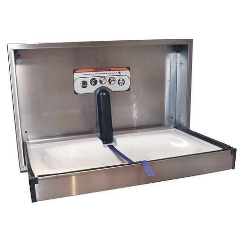 Stainless Steel Fold-down Baby Changer