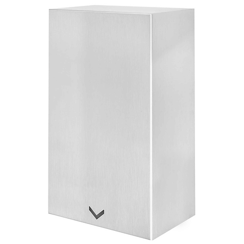 Compact Velocity Hand Dryer - Satin Stainless Steel
