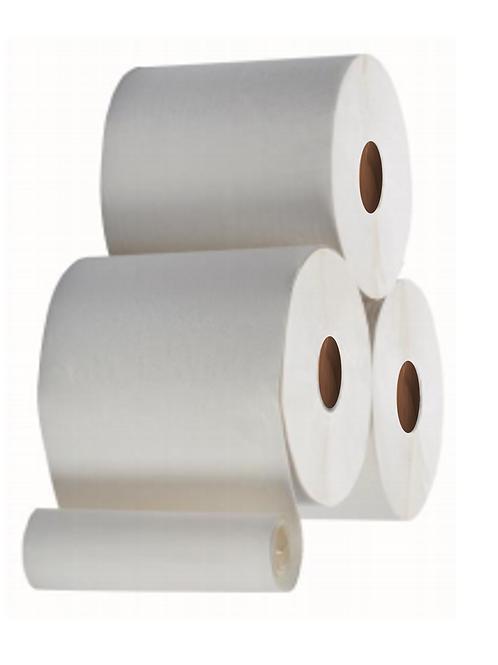 AUTOCUT White Hand Towel Rolls