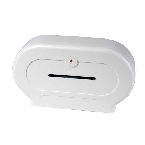 ART Twin Mini Jumbo Toilet Roll Dispenser