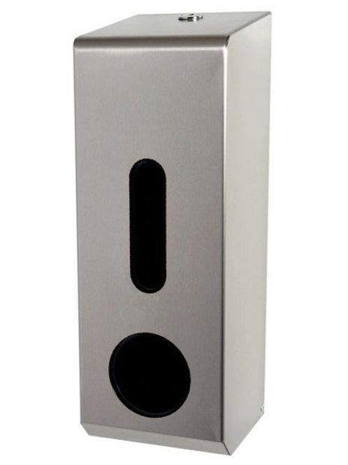 Stainless Steel Triple Toilet Roll Dispenser