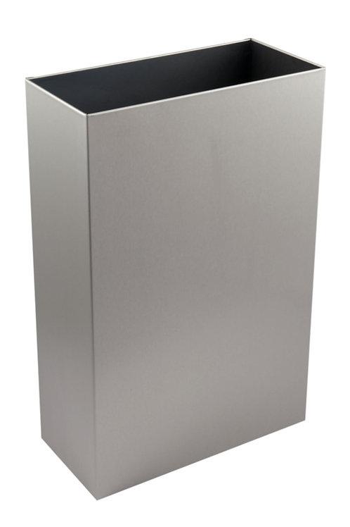 Stainless Steel Open Top Waste Bin 30 Ltr