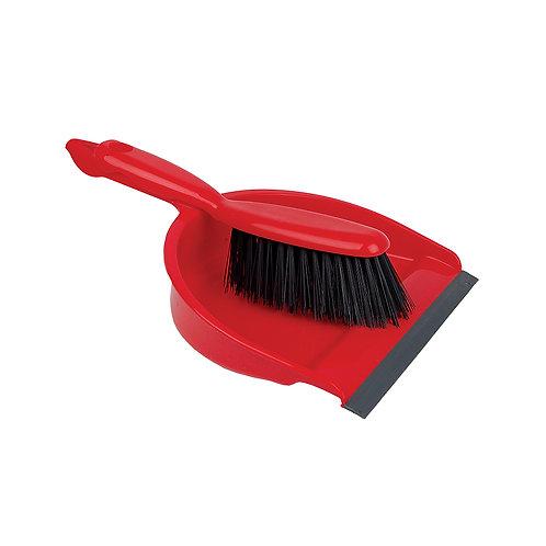 Dustpan & Brush Set - Stiff