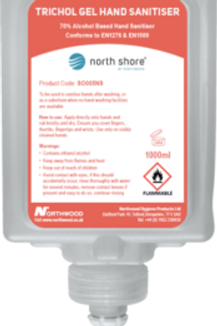 NORTH SHORE Hand Sanitiser Gel