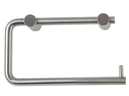Stainless Steel Toilet Roll Holder - single