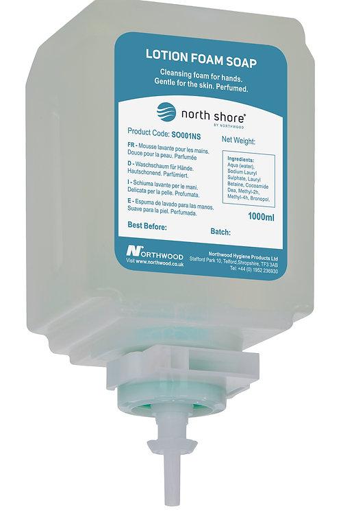 NORTH SHORE Lotion Foam Soap