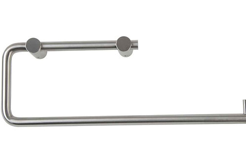 Stainless Steel Toilet Roll Holder - double