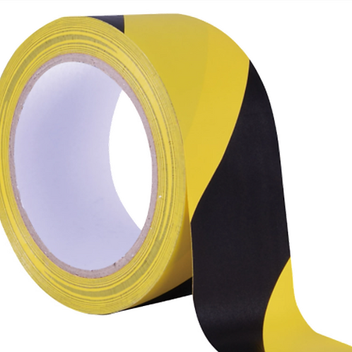 Black & Yellow Tape - 33mtr Roll
