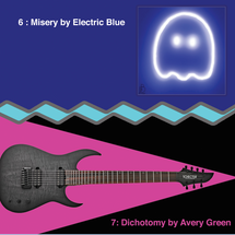 ELECTRIC BLUE & AVERY GREEN