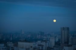 Full moon over Gotham