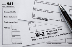 Employment tax forms filed in the United