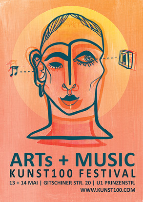 Arts and Music Festival Poster