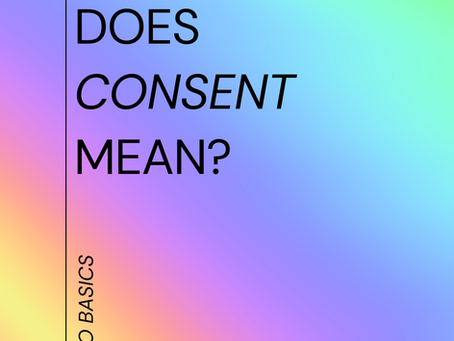 What does Consent mean?