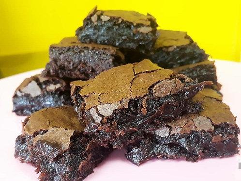 Brownie vegano e sem glúten