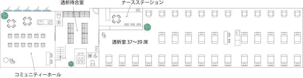 2F岸辺透析室(白黒).png