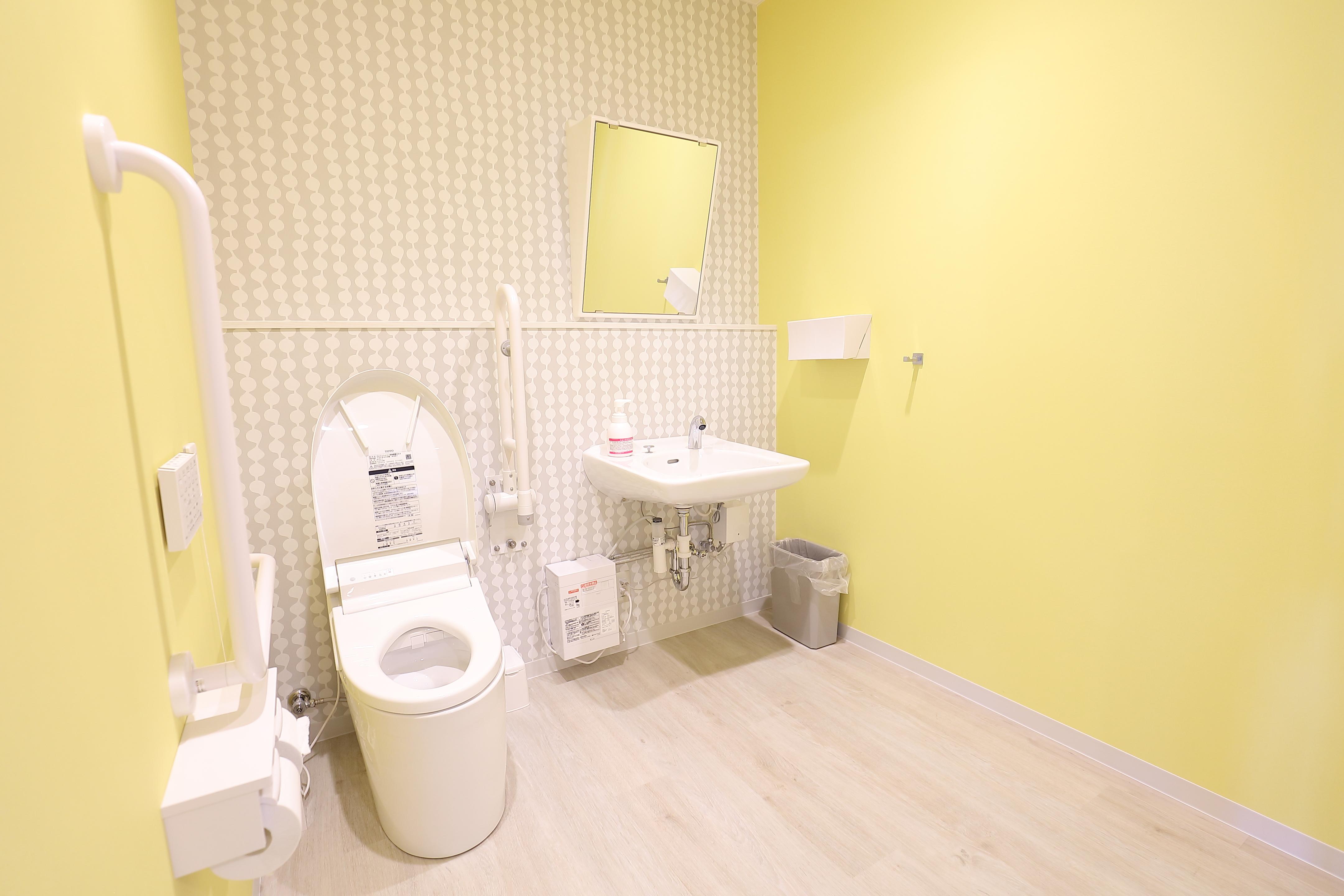 福祉用トイレ