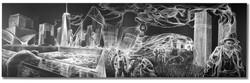 9/11 Mher Khachatryan, Smoke artist