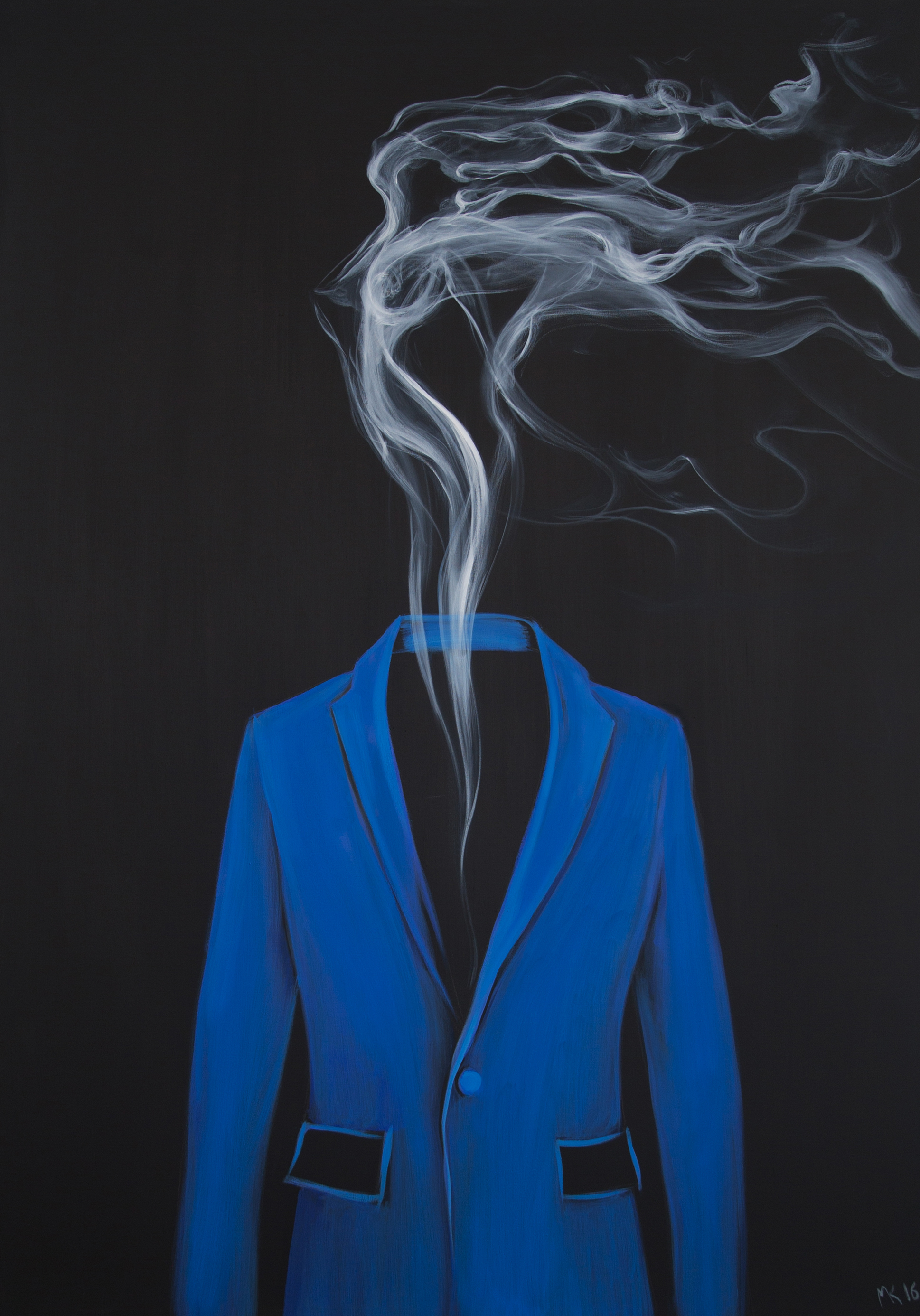 Blue - smoke, Mher Khachatryan