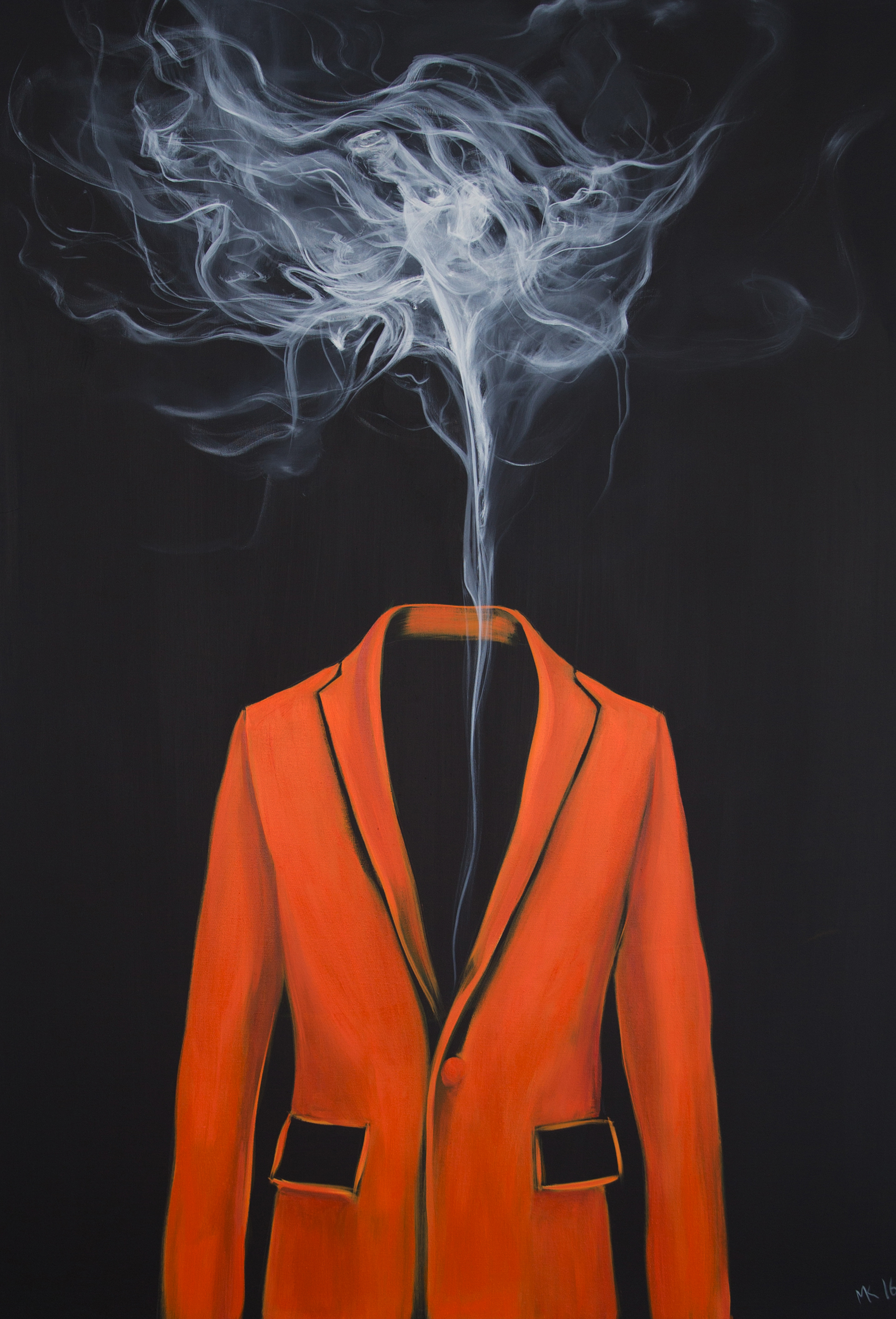 Orange-smoke, Mher Khachatryan