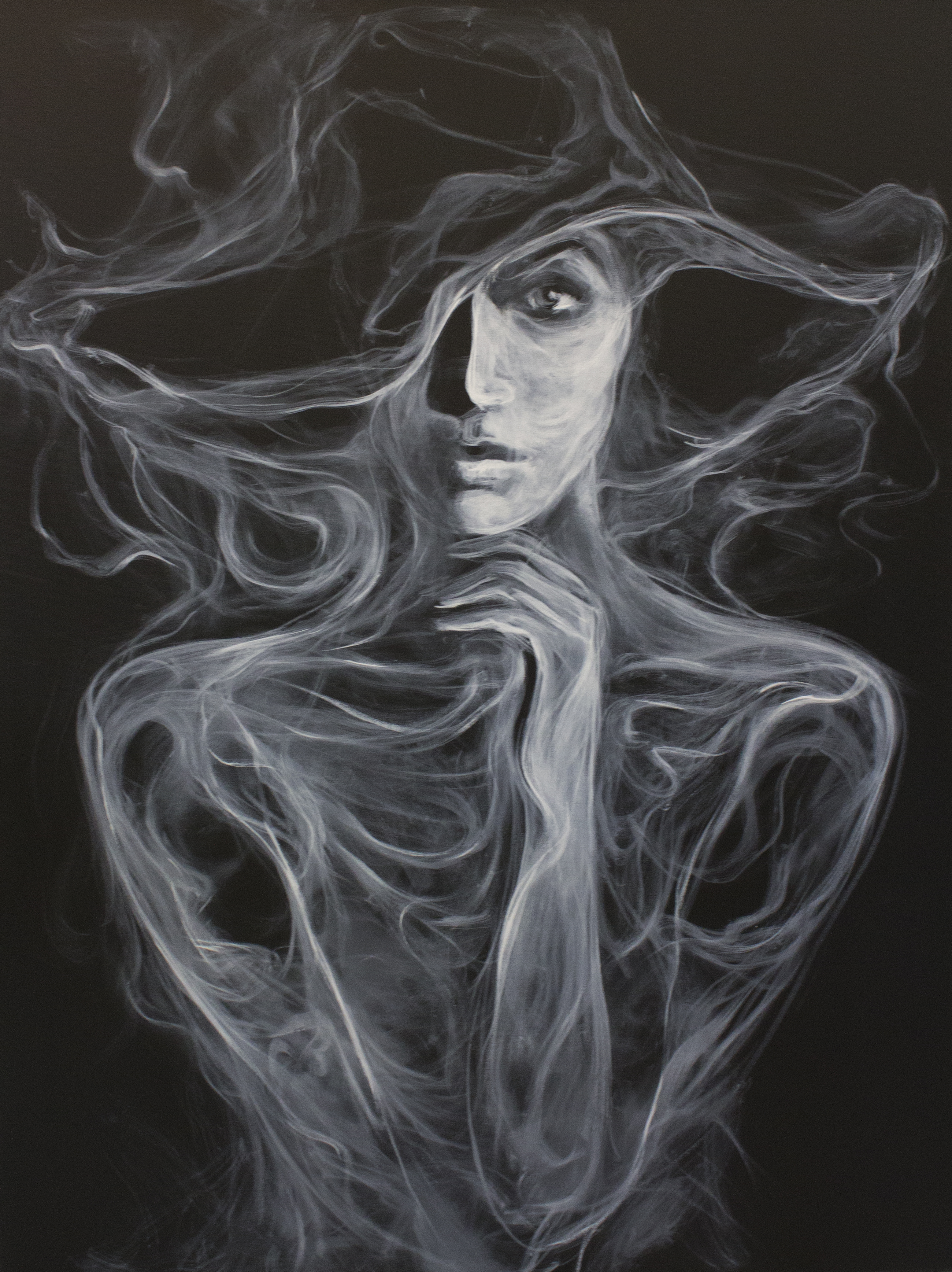 Black hat-smoke Mher Khachatryan