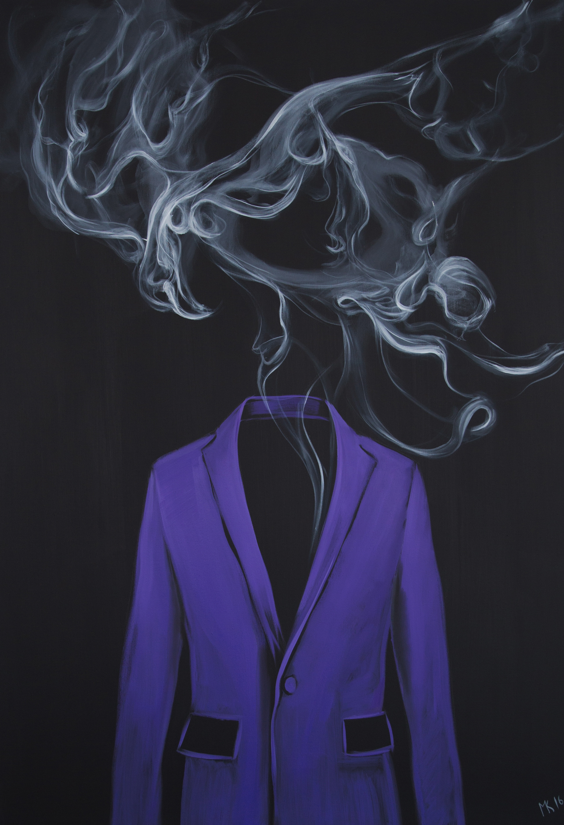 Purple - smoke, Mher Khachatryan