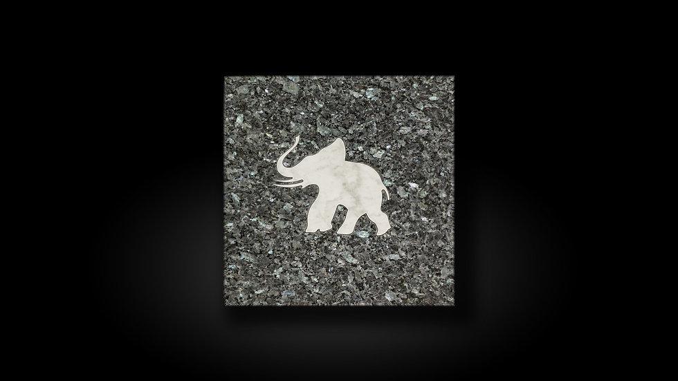 "Designfliese ""Elefant"""