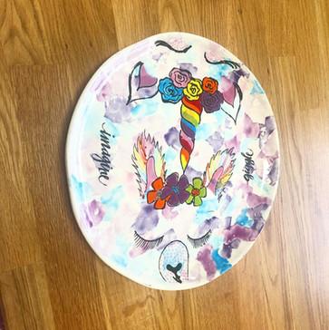 LlamaCorn Plate