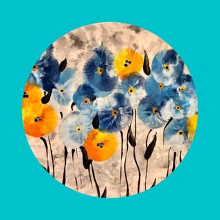 Balloon Flower Plate