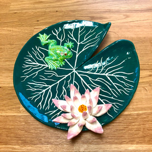 Clay Lily Pad