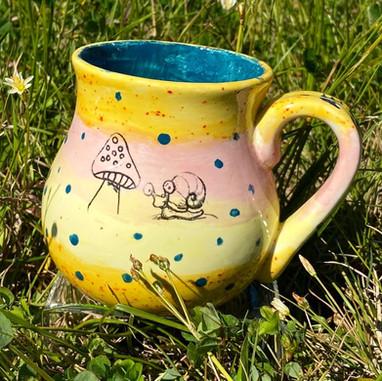 Mug with Silk Screens