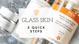 GLASS LIKE SKIN WITH 3 QUICK STEPS