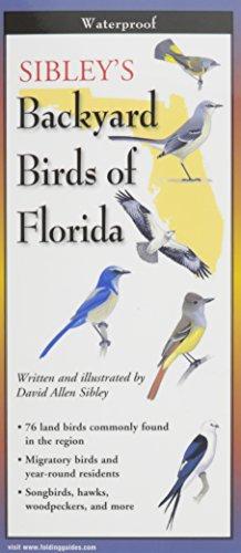 Sibley's Backyard Birds of Florida (Folding Guide)