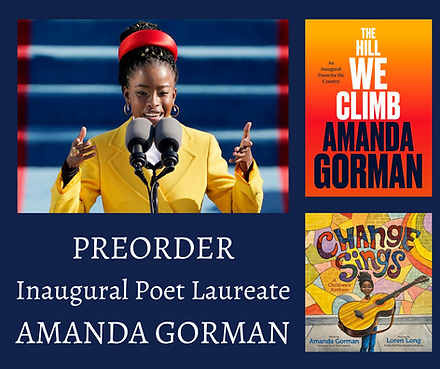 Preorder Inaugural Poet Laureate Amanda